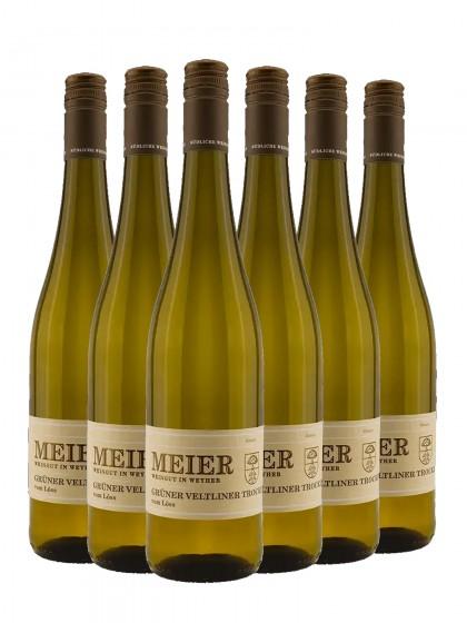 6 Flaschen Grüner Veltliner vom Löss trocken - Meier