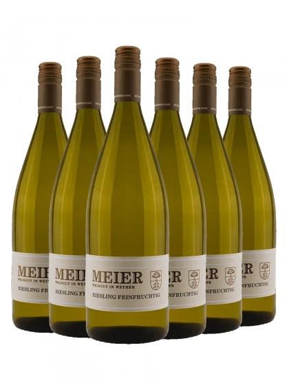 6 Flaschen Riesling feinfruchtig - Meier