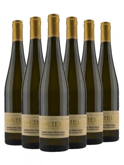 6 Flaschen Riesling trocken Burrweiler Altenforst - Meier (ex. Val. Ziegler)