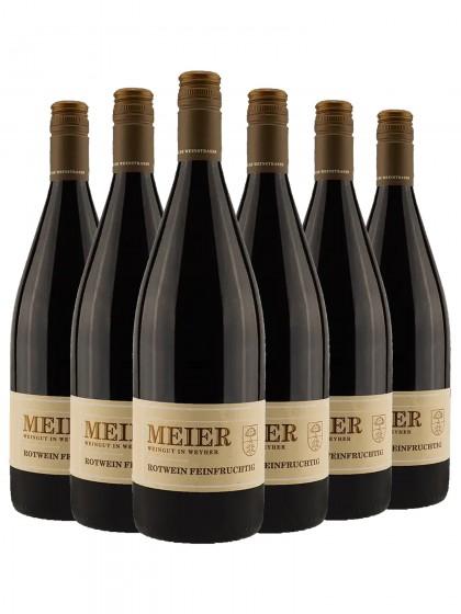 6 Flaschen Ziegler Rotwein feinfruchtig