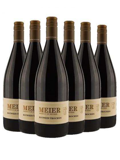 6 Flaschen Ziegler Rotwein trocken