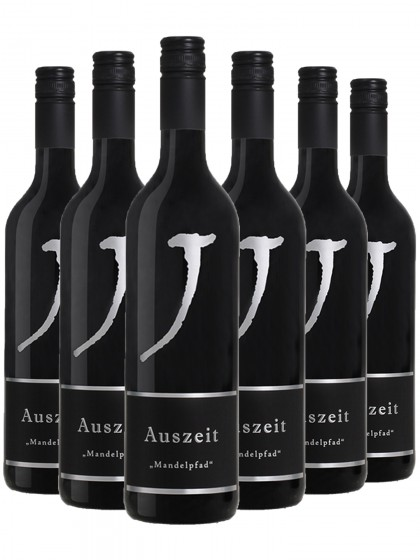 """6 Flaschen Auszeit """"Mandelpfad"""" Rotwein trocken - Neuspergerhof - Lagenwein"""