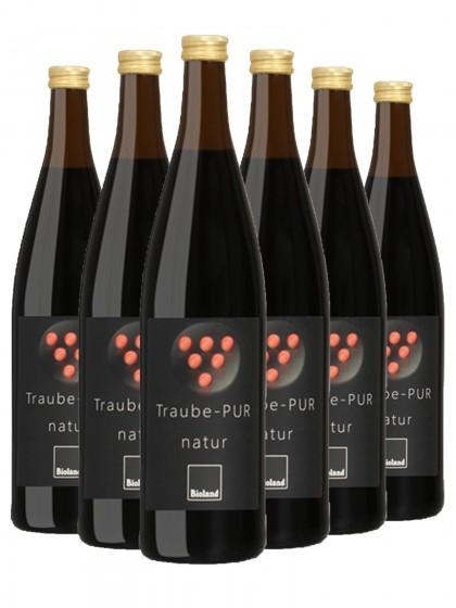 6 Flaschen Weingut Neuspergerhof Rohrbach BIO Traubensaft Rot Naturtrüb- Bioland