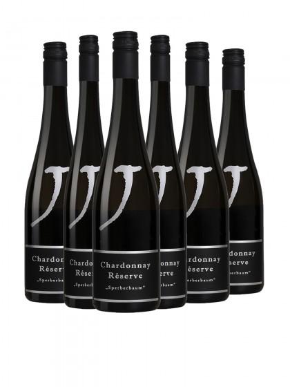 """6 Flaschen Chardonnay Barrique """"Sperberbaum""""  trocken"""