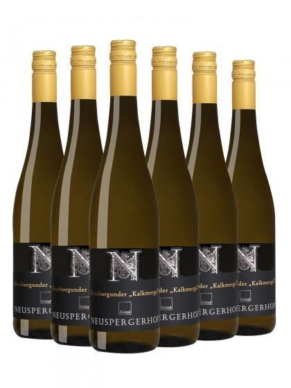 """6 Flaschen Grauburgunder """"Kalkmergel"""", trocken - Weingut Neuspergerhof - Ortswein"""