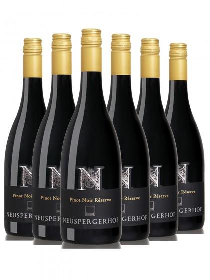 6 Flaschen Pinot Noir Réserve trocken - Neuspergerhof - Ortswein