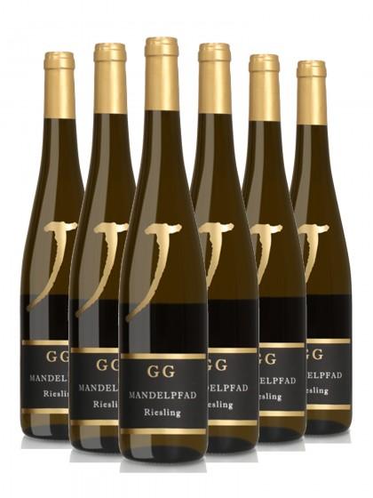 6 Flaschen Riesling GG Mandelpfad trocken - Neuspergerhof - Lagenwein