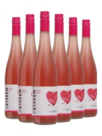 """6 Flaschen Rosé """"Mädelszeit"""", feinherb - Neuspergehrhof- Gutswein"""