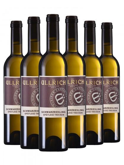 6 Flaschen Ullrich Schwarzriesling Spätlese trocken