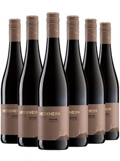 6 Flaschen Acolon Rotwein trocken