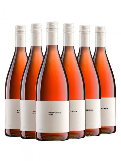 6 Flaschen Portugieser Rose lieblich