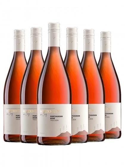 6 Flaschen Portugieser Rose trocken