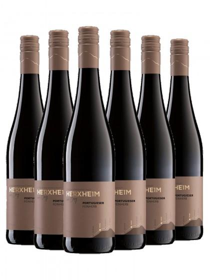 6 Flaschen Portugieser Rotwein feinherb