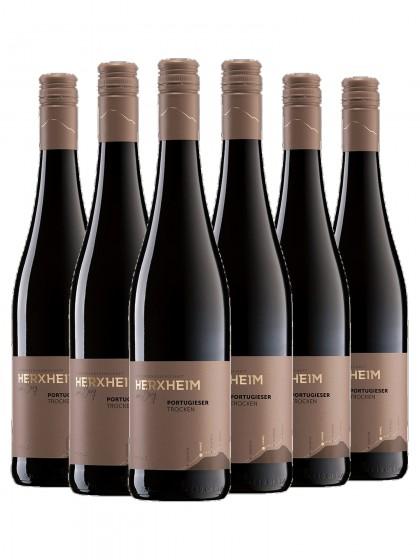 6 Flaschen Portugieser Rotwein trocken