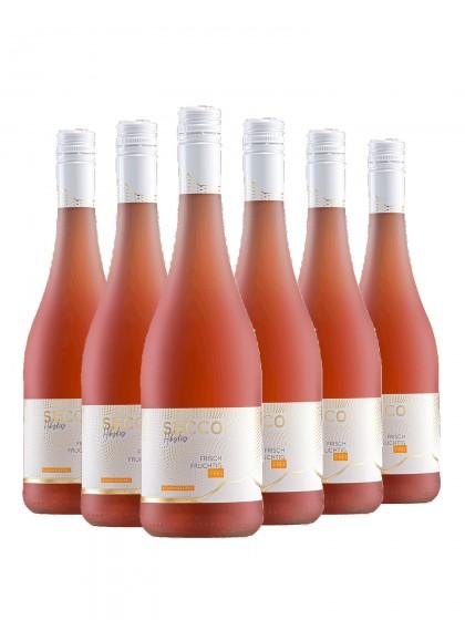 6 Flaschen Secco Hibiskus alkoholfrei