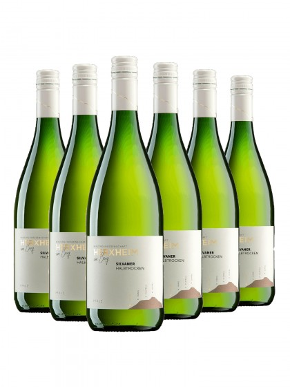 6 Flaschen Silvaner halbtrocken