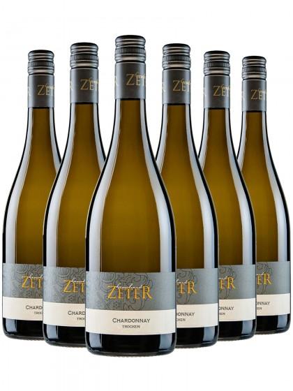 6 Flaschen Chardonnay trocken - zeter