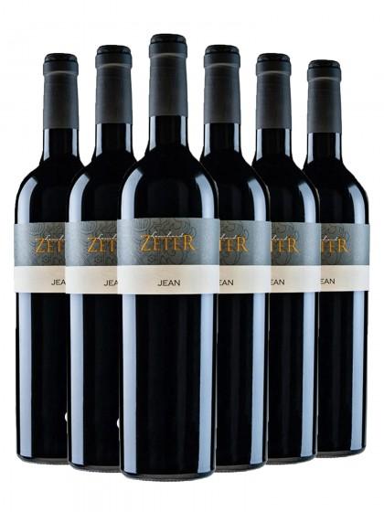 6 Flaschen Jean Rotweincuvée – auch in 1,5l Magnum erhältlich - zeter