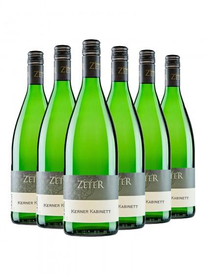 6 Flaschen Kerner - zeter