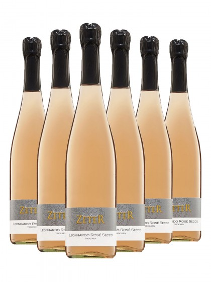 6 Flaschen Leonhardo Rosé Secco - zeter