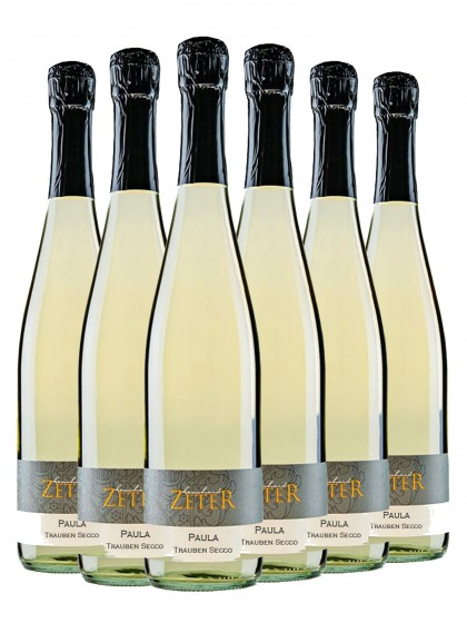 6 Flaschen Paula Trauben Secco - zeter