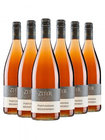6 Flaschen Portugieser Rosé - zeter