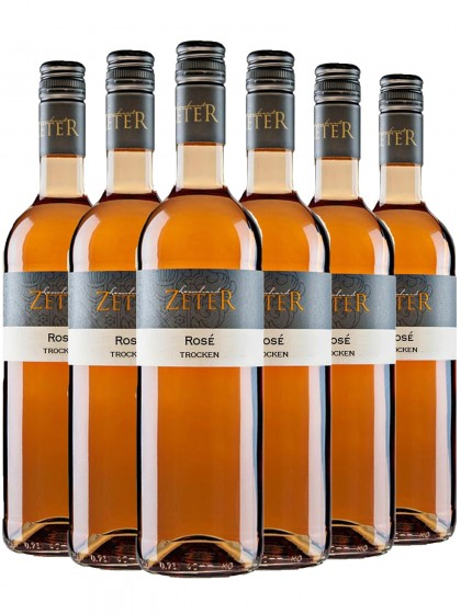 6 Flaschen Cuvée Rosé - zeter