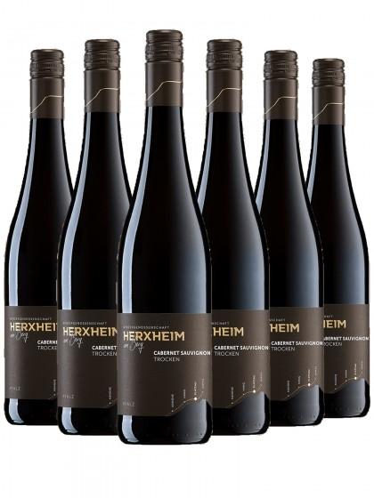 6 Flaschen Cabernet Sauvignon Rotwein trocken