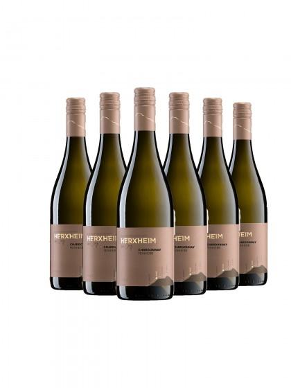 6 Flaschen Chardonnay feinherb