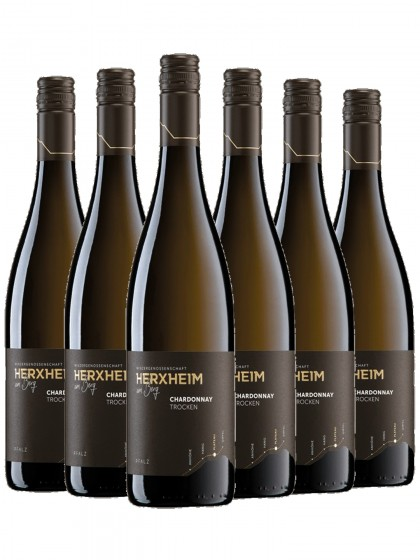 6 Flaschen Chardonnay trocken