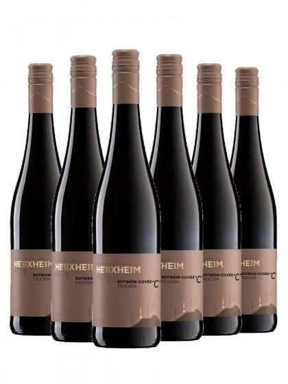 """6 Flaschen Cuvée """"C"""" Rotwein trocken"""