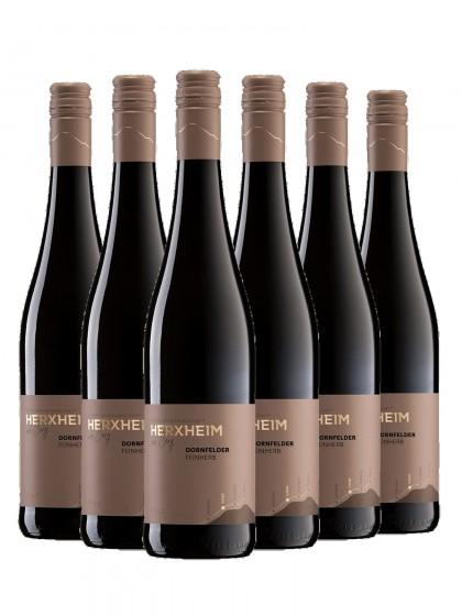 6 Flaschen Dornfelder Rotwein lieblich