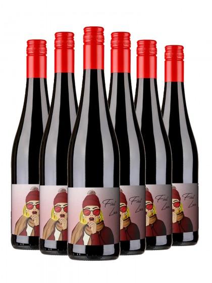 6 Flaschen First Love Rotweincuvée trocken