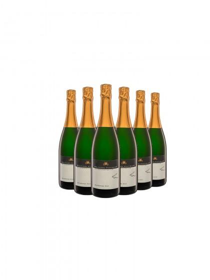 6 Flaschen Chardonnay brut - Pfaffmann -