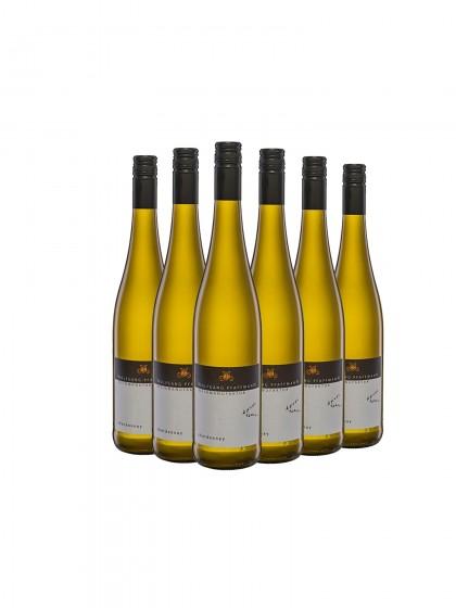 6 Flaschen Chardonnay Qualitätswein trocken - Pfaffmann -