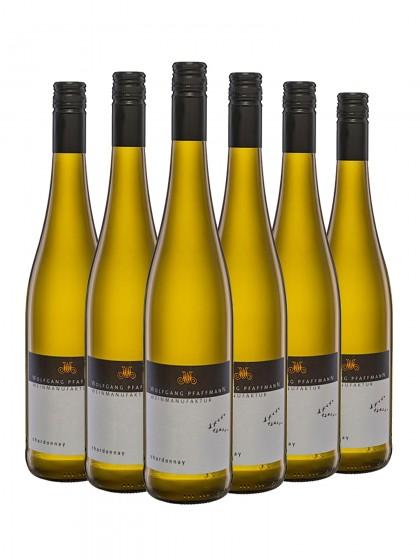 6 Flaschen Chardonnay trocken - Pfaffmann -