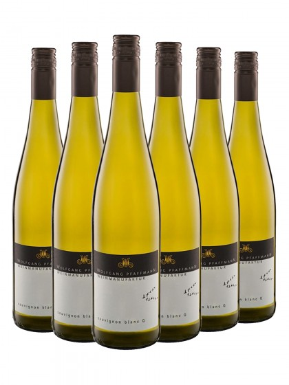 6 Flaschen Sauvignon Blanc feinherb - Pfaffmann -