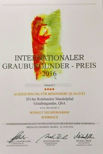 Internationaler Grauburgunder Preis